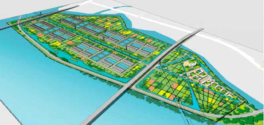 Sino Agro Food's Mega Prawn Farm