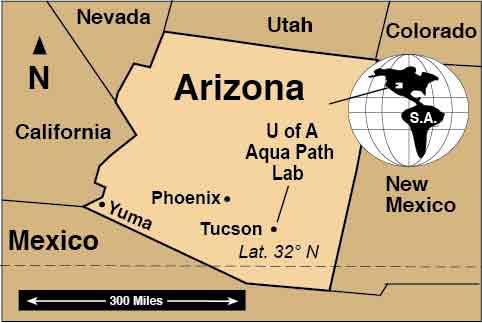 USA Arizona The University of Arizona Aqua Path Lab